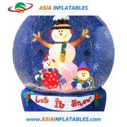Гигантские надувные по всему миру снега на Рождество оформление