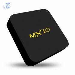 Mx10 Android 7.1 TV Box HDMI 2.0 RK3328 Quad Core a 2,4 Ghz WiFi 4K de Smart Media Player