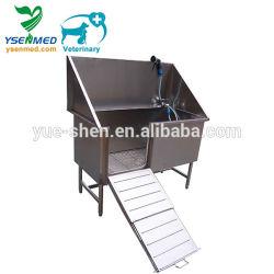 Ysvet-Cx130 / Aço inoxidável Pet Dog Lavar Hidromassagem