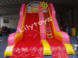Китай горячие Продажи дешевых коммерческих используется сухой слайд детей игрушки Bouncer надувные слайдов