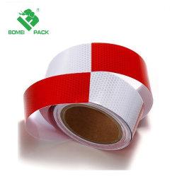 Alquiler de carretilla de advertencia de seguridad reflectante visibilidad cinta Rollo de film adhesivo pegatina