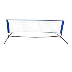 Ténis portátil Badminton Net Definido