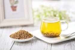 El chino de grano amargo el trigo sarraceno orgánicos para el té negro