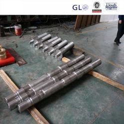 中国の製造業者の製造の精密CNC機械化モーターシャフトAISI4340は油圧タービンに使用した特別なシャフトを造った