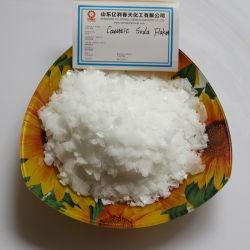 99 Hydroxyde de sodium de la soude caustique Flake pour la fabrication du papier/Agent de nettoyage