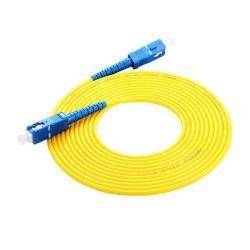 3 metros de fibra óptica SC/UPC a Sc/UPC Monomodo Simplex de PVC de 3,0 mm de cable de conexión