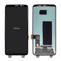 Digitaliseur d'écran LCD tactile usine assemblée pour Samsung S8/S8plus