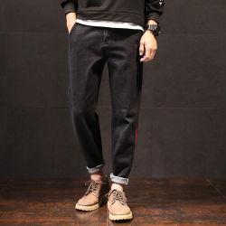 I pantaloni dei jeans di modo dell'indumento dell'abito degli uomini del denim dimagriscono i pantaloni H801 dei pantaloni
