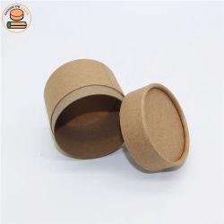 Comercio al por mayor paquete de cilindro de papel de embalaje de papel biodegradable para tubo tshirt