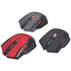 Hot Mini ratón óptico inalámbrico de 2.4GHz Gamer para PC portátiles para juegos Nuevo juego de ratones inalámbricos con Receptor USB