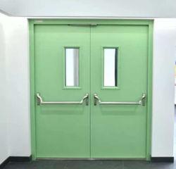 Feu de l'intérieur extérieur en métal Fire-Proof ignifugation la prévention des incendies de la sécurité de passage d'échappement Sortie de secours ignifugés porte d'entrée de porte en acier coupe-feu