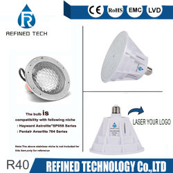 R40 des feux de sous-marine RGBW IP68 120V 12V PAR56 Piscine lumière LED 18W 24W 35W Ampoule pour Pentair Hayward RoHS dispositif avec ce