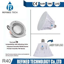 R40 IP68 RGBW подводного освещения 120V 12V PAR56 светодиодный индикатор бассейн 18W 24W 35W , сертифицированную для Pentair Хейворта RoHS Jandy приспособление с маркировкой CE