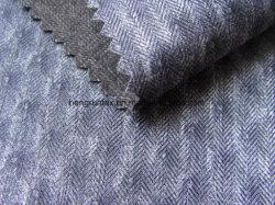 100% полиэстер шерсть вращается Downproof ткань