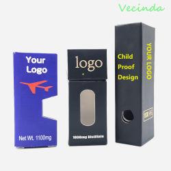 Магнитные Vecinda Подарочная упаковка с EVA держатель для Конвенции о биологическом разнообразии Vape упаковка перьев