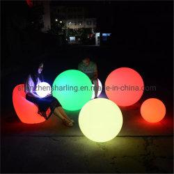 Интерьер светодиод солнечного света шарик садовой мебелью для Бассейн Pot 25см