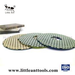 Diamante de 7 pulgadas de pulido en seco Pad para Counter-Top y concreto