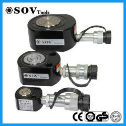 重い持ち上がることのための単動超薄い油圧ジャック(SOV Rsm 300)