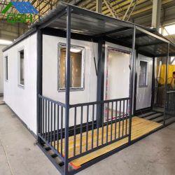 Veranda로 30피트 길이의 준비된 휴대용/중국 확장 가능 컨테이너 하우스