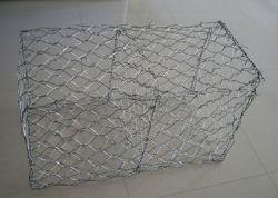 3mm*80mm*100mm helle galvanisierte Hexgonal Geflügel-Draht-Filetarbeit mit Beschichtung des Zink-60g