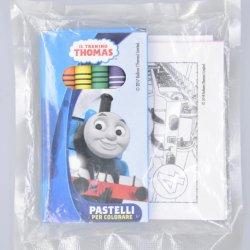 Conjunto de desenho de Papelaria Crayon definido com 6 PCS Cuatomized Non-Toxic giz de cera na caixa e livro de desenho em Grau Alimentício Saco PVDC