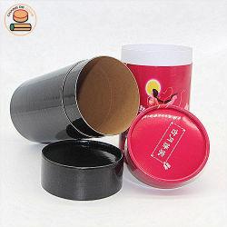 녹차 포장을%s 인쇄된 음식 급료 마분지 차 커피 콘테이너 포장 실린더 둥근 선물 종이상자