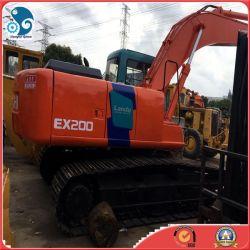 Verkauf gutes laufendes Hitachi Ex200, Ex220, Maschinen-Exkavator des Aufbau-Ex120 für den Export