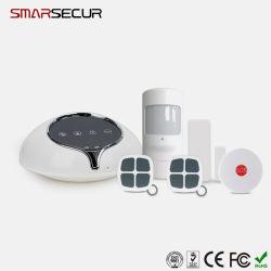 Android Market/IOS APP WCDMA Controle 3G, Sistema de Alarme Wireless Home Security