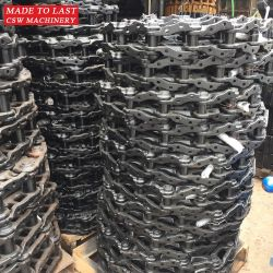 重い構築の機械装置の土工の本物の掘削機PC400トラック鎖