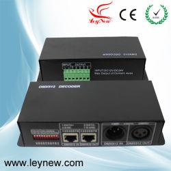 LED RGB DMX Contrôleur commune (LN-DMXTCON-4CH-LV)