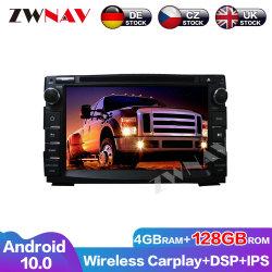 128g drahtloser Carplay androider Bildschirm-Spieler für KIA Ceed 2003 2004 2005 2006 2007 2008 Auto GPS-Selbstaudioradiostereohauptgerät