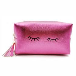 Le estetiche in piedi quadrate impermeabili della borsa di corsa di funzione delle donne delle signore di modo del ciglio dell'unità di elaborazione compongono il sacchetto