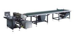 El encolado de la máquina con ruedas de goma de la alimentación de papel (JSJ-650B)