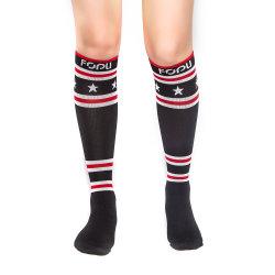 Мальчик для женщин и девочек носки сжатия спорта футбол носки носки трубки