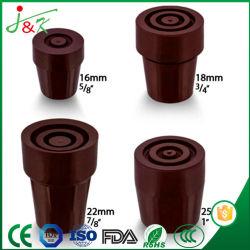 Gehender Stock-Gleitschutzauflagen, schützende Gummifüße, Gummischeiben