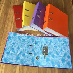 """Un surtido de cartón Impresión en color A4 3"""" Archivo de arco de la palanca de papel"""