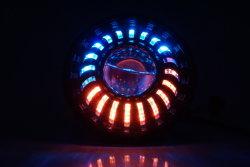 7 '' مصباح أماميّ [إس] يوافق سيارة ضوء تجديد مصباح أماميّ [لد] مصباح أماميّ لأنّ سيارات يطارد ضوء