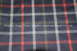 Fils teints tissu T/R, style écossais, 65% polyester, 32% viscose, 3% Spandex, 280gsm