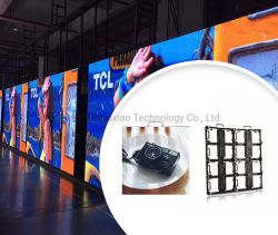 Facili portatili installano P3.91 l'alta video parete esterna eccellente dell'affitto LED/schermi dell'interno del LED