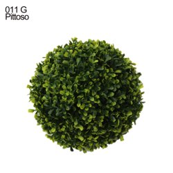 Eco-Friendly Anti-UV Flor verde plantas artificiais Flores artificiais Ball