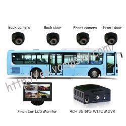4CH HDD DVR Mobile d'autobus scolaires