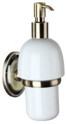 Fabricante China cn54045b Tono Oro líquido de accesorios de baño Wc Dispensador de Jabón de cerámica de accesorios
