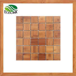 Mosaico de la pared de bambú Bamboo Mosaico