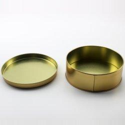 Leere hochwertige Custom Gold Dose für Kerze