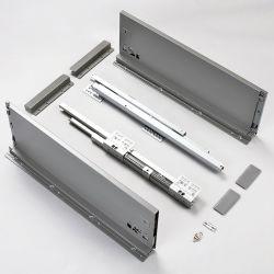 182mm Höhe Soft Close Slim Box Küchenschrank Metallschublade