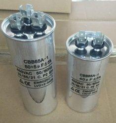 condensatore del condizionatore d'aria dell'alluminio PMP (produzione massimale possibile) Cbb65 di 45UF 450V