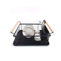 台所用品金属製保管棚板水切り皿乾燥ラック