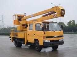 Jmc 브랜드 16M 항공 작업 플랫폼 트럭, 고고도 작업 차량, 테일리프트 트럭, 오버헤드 작업 트럭