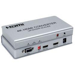 4K HDMI преобразователь с вверх/вниз масштабирования, с помощью видео стены функции контроллера