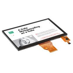 Ângulo de visão total 500cd/m2 Alto Brilho 1024X600 pino 50 RGB IPS TFT LCD 7 polegadas tela de toque capacitivo